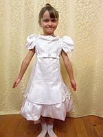 Нарядное детское платье со шлейфом на прокат, фото 1