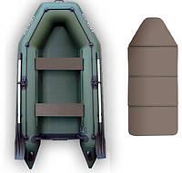 Надувная моторная лодка Kolibri КМ-300, настил-книжка