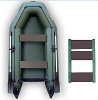 Надувная моторная лодка Kolibri КМ-300, настил-коврик