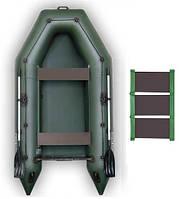 Надувная моторная лодка Kolibri КМ-330, настил-коврик