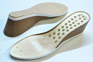 Подошва для обуви женская C521 беж. р.36-41, фото 2