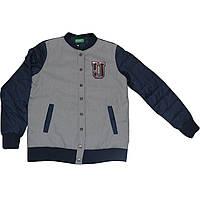 Куртка United Colors of Benetton 160 см Серо-синяя (2LL5538L0)
