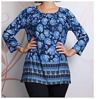 Блуза женская большого размера 40-44р.