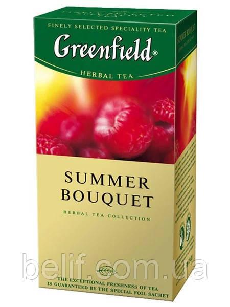 Гринфилд Summer Bouguet 2*25*10 малина (травяной)