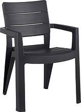 Крісло-стілець IBIZA графіт (Allibert)