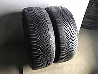Шины бу зима 225/55R17 Michelin Alpin 5 2шт 4мм