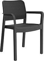 Крісло-стілець SAMANNA графіт (Allibert), фото 1