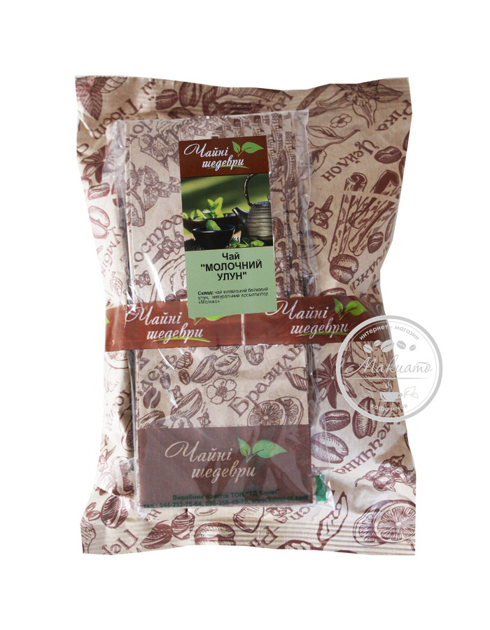 """Чай зеленый Молочный Улун ТМ """"Чайные шедевры"""", 500г"""