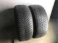 Шины бу m+s 225/55R17 Goodyear Vector 4 Seasons 2шт (6/7мм)
