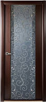 Двери Белвуддорс, Грандекс 202 венге/графит серия Гранд шпон
