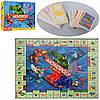 Настольная игра M 3802, Монополия, игр. поле, фишки, карточки, в кор-ке, 39, 5-26, 5-5, 5см