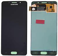 Дисплей Samsung Galaxy A5 2016 A5100, A510F, A510FD, A510M, A510Y|Оригинал|с сенсорным стеклом|Черный
