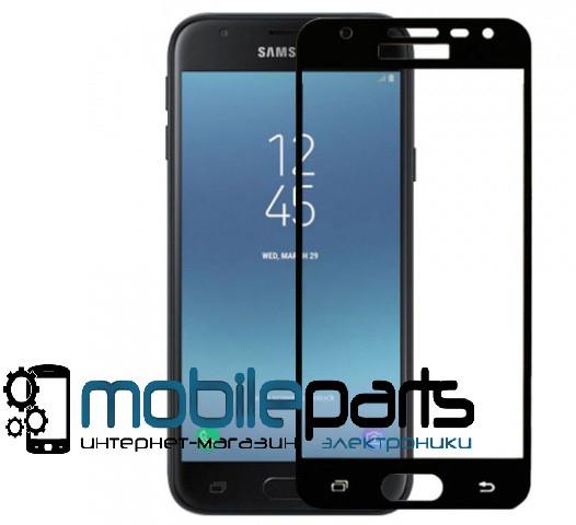 Защитное стекло для мобильного телефона Samsung J5 2017 | J530(0,25 мм,3D)(Черное)(Тех.упаковка,без салфеток)