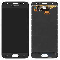 Дисплей Samsung Galaxy J3 2017 J330F|Оригинал|с сенсорным стеклом|Черный