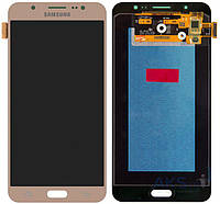 Дисплей Samsung Galaxy J7 2016 J710F, J710FN, J710H, J710M|Оригинал|с сенсорным стеклом|Золотой