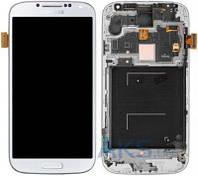 Дисплей Samsung Galaxy S4 I9500|Оригинал|с сенсорным стеклом и рамкой|Белый