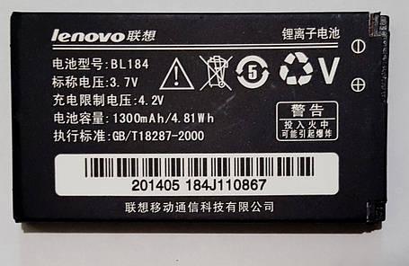 Акумулятор для Lenovo BL-184 (A390E) 1300mAh original, фото 2