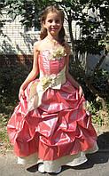 Красивое пышное платье для девочки на прокат