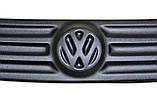 Зимняя накладка (матовая) Volkswagen Caddy 2004-2010 (верх решетка), фото 2