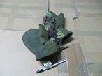 Рукавиці трьохпалі  ARCTIC МК - III (утеплені штучним хутром) / Оливковий / S / Нова