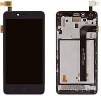 Дисплей Xiaomi Redmi Note 2|Оригинал|с сенсорным стеклом и рамкой|Черный