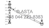 Рулевая Тяга (II) на YTO-X1204, фото 1