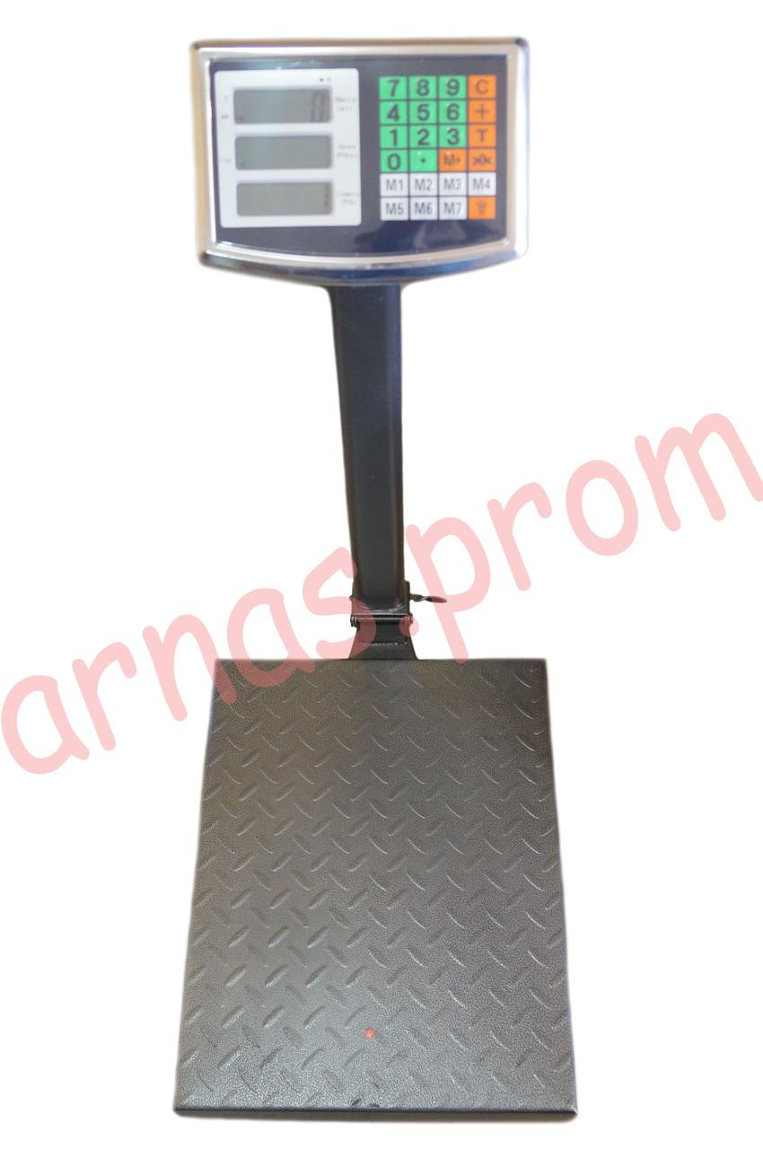 Торговые электронные весы до 300 кг со стойкой