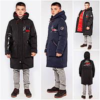 Зимняя куртка парка для мальчика Джастин 146,158р, фото 1