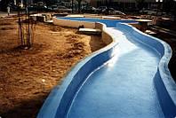 Гидроизоляция бассейнов, водоемов, фундаментов, гидросооружений (мосты, тонели), кровли.