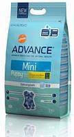 Корм  Advance Mini Puppy (Эдванс) для щенков мелких пород 3 кг