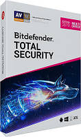 Bitdefender 2019 Total Security 1 Device 12 месяцев