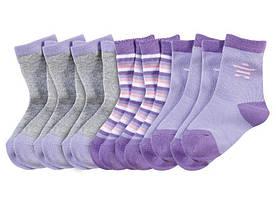 Детские носки фиолетовые Lupilu р.19-22