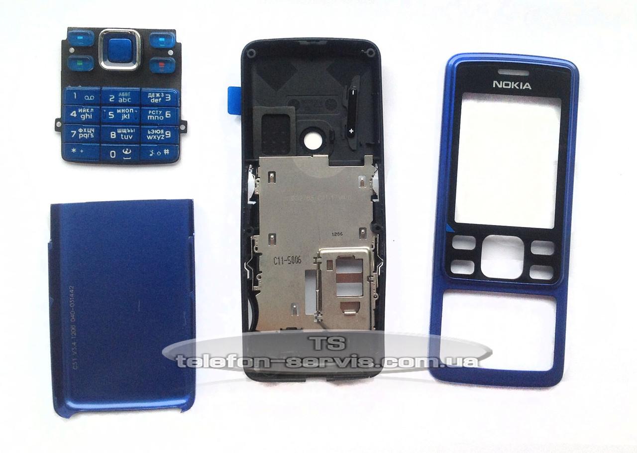 Корпус Nokia 6300 зелёный с орнаментом копия ААА