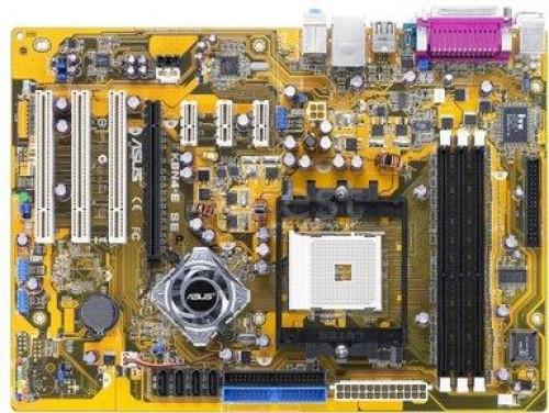 Материнская плата Asus K8N4-E SE (s754, nForce4 4x, PCI-Ex16) бу