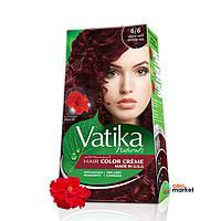 Краска для волос Dabur Vatika Naturals насыщенно-красный 100 мл