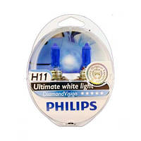 Philips Diamond Vision  5000K / тип лампы H11 / комплект 2шт.