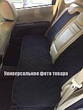 """Накидки на сиденье """"Эко-замша"""" узкие (комплект) без лого, цвет коричневый Украина, фото 2"""