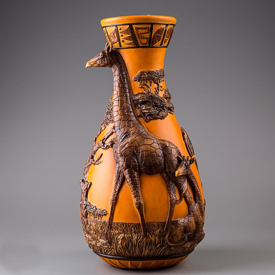Ваза Veronese Жираф 42 см (76271VA)