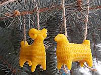 Новогодние игрушки символ 2015 козочки овечки