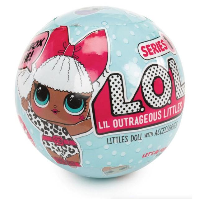 Куклы l.o.l. surprise (невероятный сюрприз в шаре)