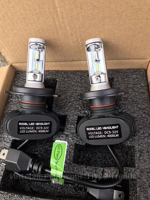 Светодиодные лампы для автомобиля Car Led S1 H1 (4000Lm 6500K). Комплект. В Украине, в Одессе, фото 2
