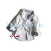Рубашка Guess с контрастным воротником и манжетами