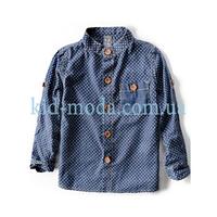 Рубашка Zara в горошек для мальчика