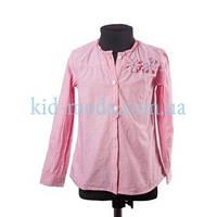 Рубашка Zara с нашитыми цветами