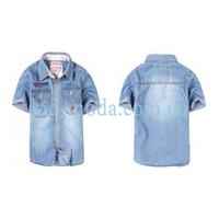 Рубашка джинсовая Guess с коротким рукавом