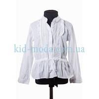 Рубашка Tommy Hilfiger с драпировкой для девочки