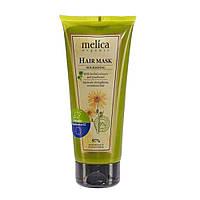 Маска для волос Melica Organic с растительными экстрактами и пантенолом 200 мл