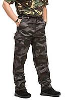 Брюки тактические MIL-TEC серый камуфляж, фото 1