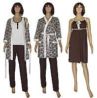 Ночная рубашка, пижама с брюками и халат 18077 MindViol Slivki Agure, фото 1