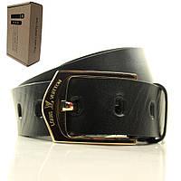Ремень Lazar мужской кожаный L40U0W1-B